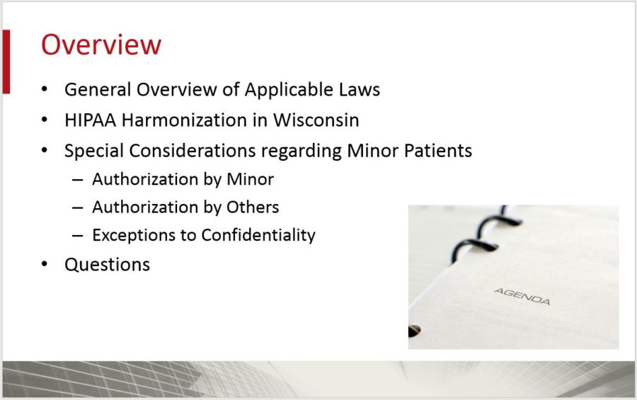 Legal Confidentiality Requirements For Medical Records of Minors